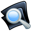 Folder search icon