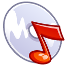 Music cd icon