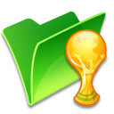 folder trophy icon