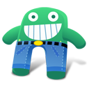 Creature Green Blue Pants icon