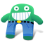 Creature-Green-Blue-Pants icon