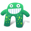 Creature Green Blue icon