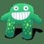 Creature Green Blue icon