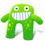 http://icons.iconarchive.com/icons/fasticon/creature-cutes/64/Creature-Green-icon.png