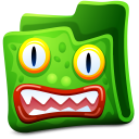 Green folder icon