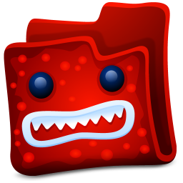 red folder icon
