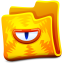 http://icons.iconarchive.com/icons/fasticon/creature-folders/64/yellow-folder-icon.png