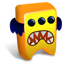 Orange-creature icon