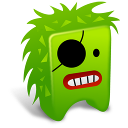 Green creature icon