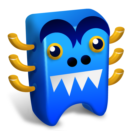 Blue-creature icon