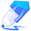 pen blue icon