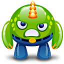Green-monster-angry icon