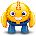 yellow monster icon