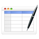 Table-edit icon