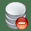 Data remove icon