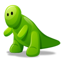 Dino green icon