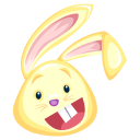 http://icons.iconarchive.com/icons/fasticon/easter-rabbits/128/yellow-rabbit-icon.png