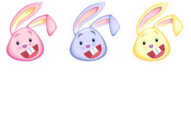 Easter Rabbits Icons