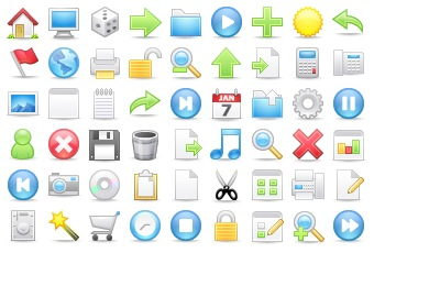Essential Toolbar Icons