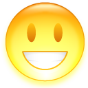 happy emoticon for MSN 01