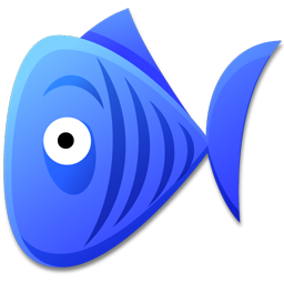 Blue Fish Icon | Fish Toys Iconset | Fast Icon Design
