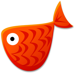 Red Fish Icon | Fish Toys Iconset | Fast Icon Design