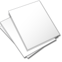 documents white icon