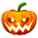 Halloween nervous icon