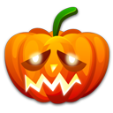 Halloween-sad icon