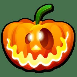 Halloween crazy icon