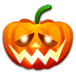 Halloween shame icon