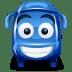 Bus-blue icon