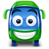 Bus-green icon