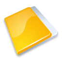 folder close yellow icon