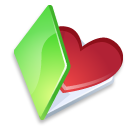 folder favorits green icon