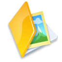 folder image yellow icon