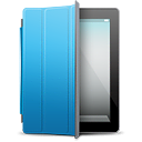 IPad-Black-blue-cover icon