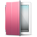 iPad White pink cover icon