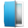 IPad-White-blue-cover icon