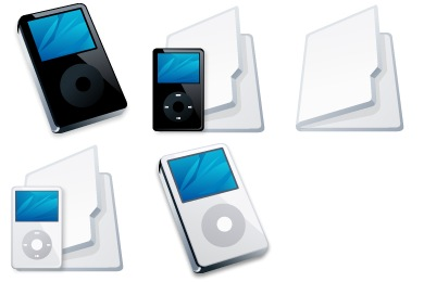 iPod Folders Icons