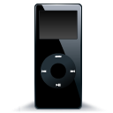 iPod nano black 2 icon