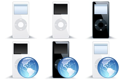 iPod Nano Icons