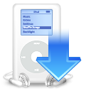 iPod download icon