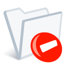 iFolder remove icon