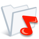 Ifolder music icon