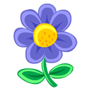 Blue Flower icon