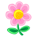 Pink Flower icon
