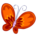 Red Butterfly icon