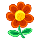 Red-Flower icon