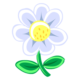 White Flower icon
